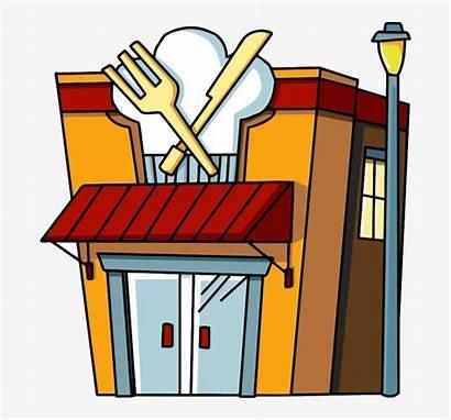 Restaurant Clipart Cartoon Restaurants Drawing Library Cafe