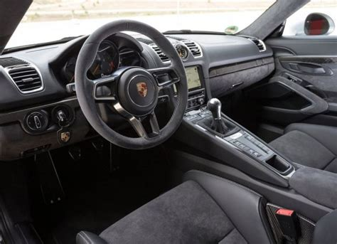 porsche cayman interior 2017 2017 porsche cayman gt4 review photos price specs wiki