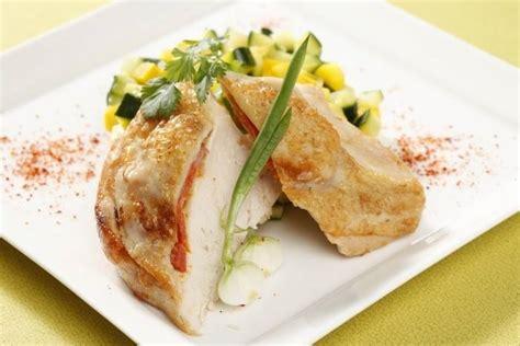 cours de cuisine à bordeaux recette de suprême de volaille contisé au chorizo courgette au citron confit facile et rapide