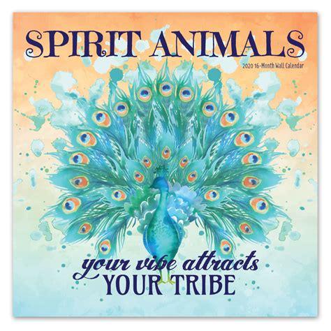 avalon wall calendar spirit animals leap year publishing