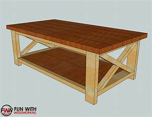 Rustic Coffee Table Plans - Home Design