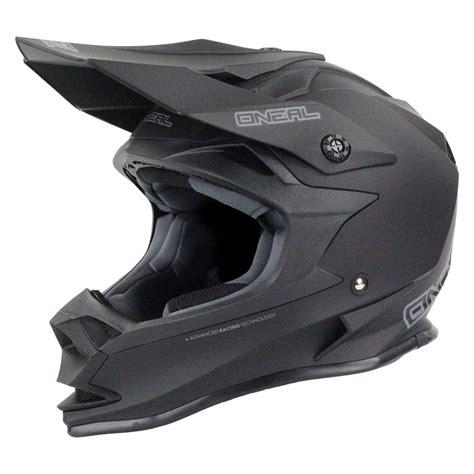 flat black motocross helmet oneal new 2017 mx 7 series evo dirt bike motorbike matte