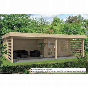Chalet De Jardin Contemporain : pool house bois toit plat 1000 ideas about abri jardin ~ Premium-room.com Idées de Décoration