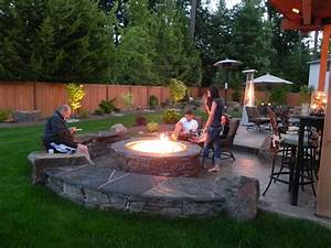 Backyard Ideas Cheap Small No Grass Landscaping With