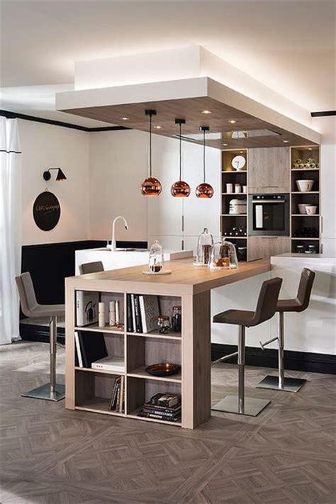 plan de travail cuisine blanc laqué cuisine ouverte sur salon 20 exemples inspirants côté maison