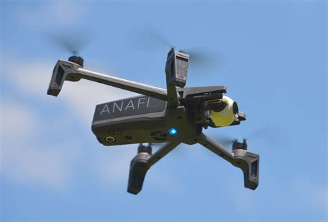 review parrot anafi drone ieee spectrum