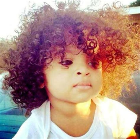 The gallery for   > Cute Mixed Babies With Curly Hair