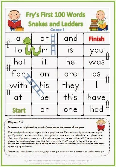 17 best images about high frequency words on pinterest