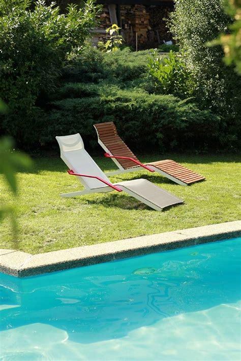 chaise longue extérieur chaise longue alva extérieur de jardin en aluminium de