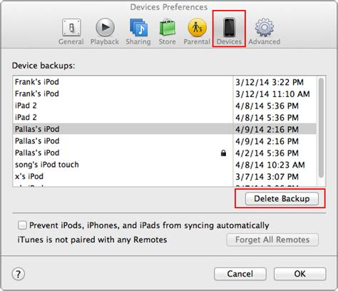 how to delete iphone backup on mac how to delete a backup in itunes imobie guide
