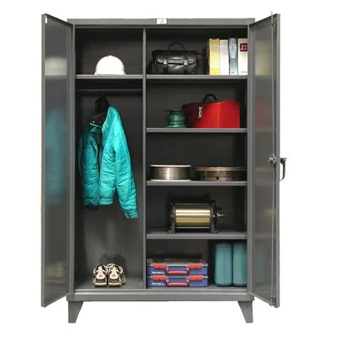 Closet Cabinets by Stronghold Wardrobe Cabinets Shelving Inc