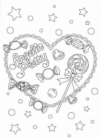 Pretty Coloring Angelic Pages Few