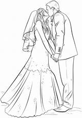 Bride Groom Coloring Printable Zum Barbie Drawing Hochzeit Draw Ausmalbild Desenhos Step Dibujos Colorir Ausmalbilder Kleurplaat Supercoloring Kleurplaten Brautpaar Novios sketch template