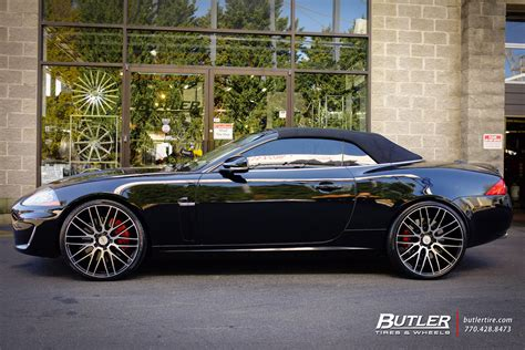 Jaguar Xkr With 22in Savini Bm13 Wheels Exclusively From