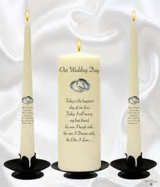 candles wedding wedding candles personalised unity candles candlezone ie 01 4010303 candles for all accasions