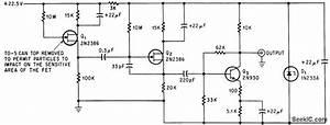 Fet Alpha Detector - Power Supply Circuit
