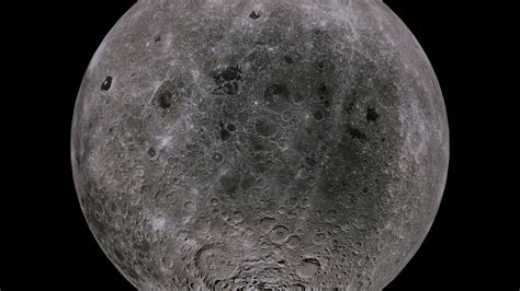 3d Model Moon 4k Vr / Ar / Low-poly Obj 3ds Fbx Blend Dae