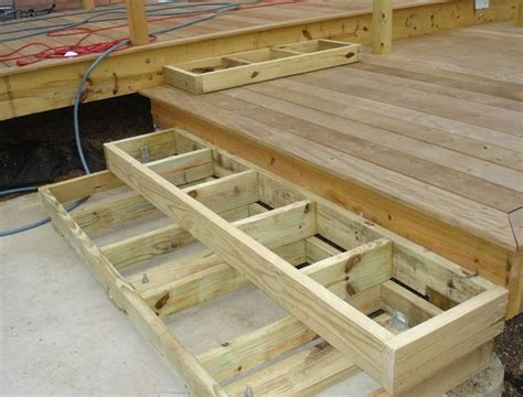 Build Steps For Deck by 25 Best Ideas About Deck Stairs On Pinterest Math