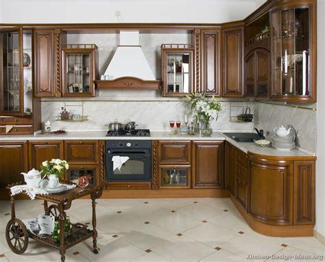 Italian Kitchen Design  Traditional Style Cabinets & Decor