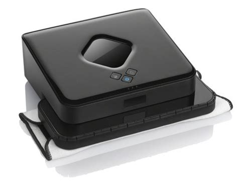 Irobot Floor Mopping Robot Black by 5 Gadgets That Do The Cleaning For You Techlicious