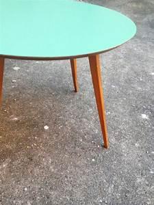Table Basse Scandinave Vintage : table ronde aquiline adopte un meuble ~ Teatrodelosmanantiales.com Idées de Décoration