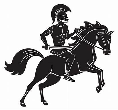 Greek Mythology Gladiator Perseus Andromeda Icon Horse
