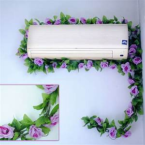 Artificial rose garland silk flower vine ivy home wedding