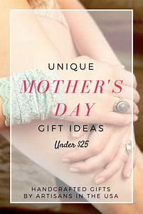 Unique Mother's Day Gifts Under $25 | aftcra blog