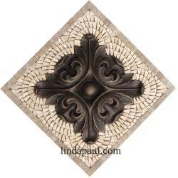kitchen backsplash metal medallions rachels flower kitchen backsplash medallions and accents