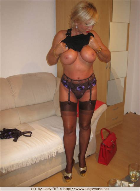 In Gallery Lady Barbara Slut Mature High Heels Stockings Nylon Picture