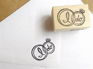 wedding ring stamp i do stamp wedding by japaneserubberstamps With wedding ring stamps