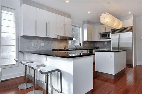 Modern Galley Kitchen Ideas - 27 gorgeous kitchen peninsula ideas pictures designing idea