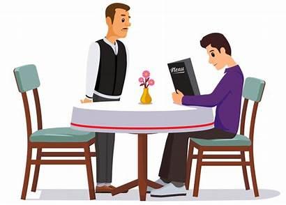 Waiter Clipart Cafe Restaurant Order Taking Restaurants