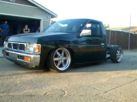 nissan frontier bagged 1994 nissan hardbody bagged youtube