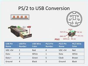Ps2 Keyboard Wire Color Code
