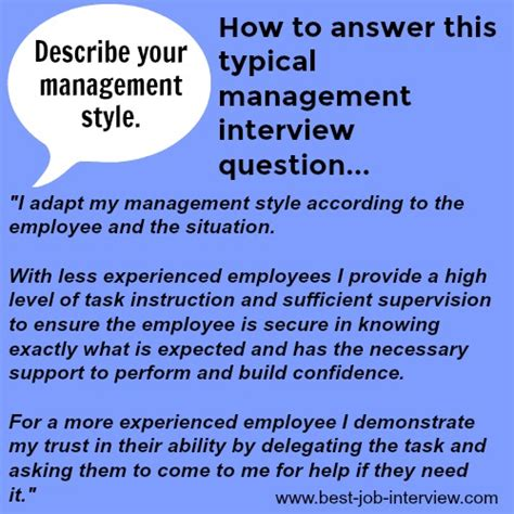 typical management interview questions