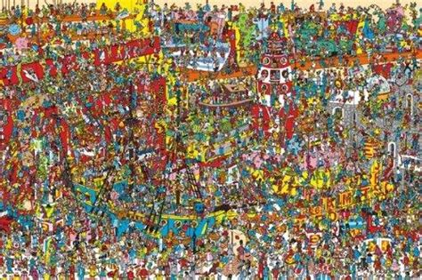 puzzles wheres wally  piece family puzzle  sold
