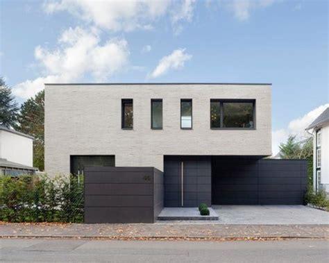 Moderne Puristische Häuser by Moderne H 228 User Mit Steinfassade Ideen F 252 R Die