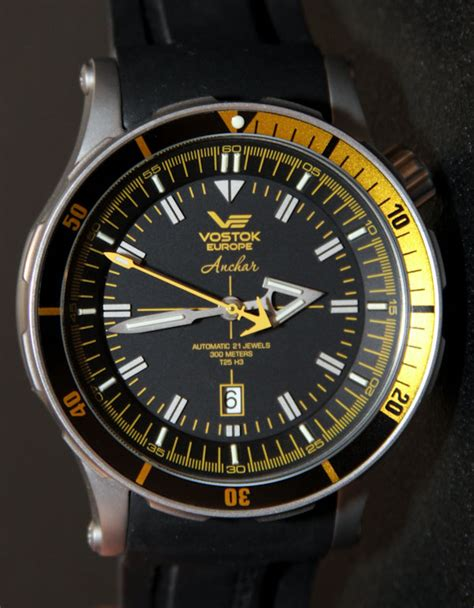 Vostok Dive Vostok Europe Anchar Diver Review Ablogtowatch