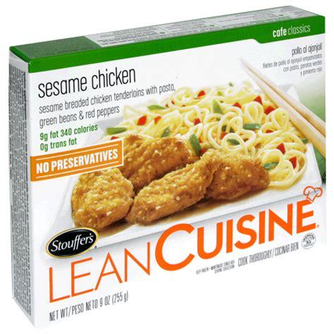 lean cuisine lean cuisine