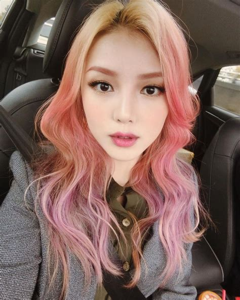 Coloring Hair Korean by Park Hye Min Ulzzang 박혜민 포니 Korean Makeup Artist