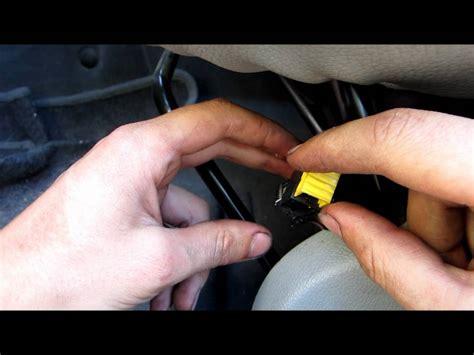 siege c8 tuto réparer le problème du voyant d 39 airbag kangoo how