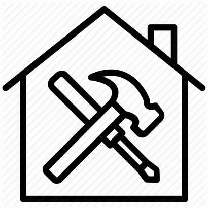 Icon Improvement Maintenance Repair Renovation Property Icons