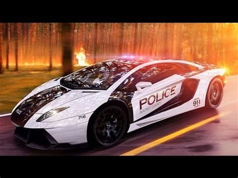 Lamborghini Aventador Police Chase Nfs Most Wanted 2012