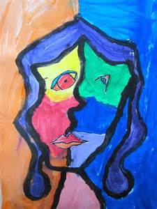 Picasso Abstract Face Painting