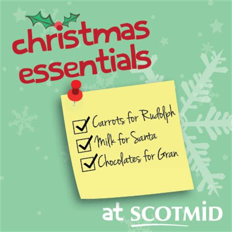christmas essentials scotmid food
