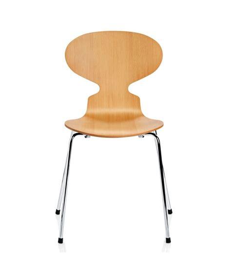 chaise jacobsen chaise fourmi design arne jacobsen pour fritz hansen la