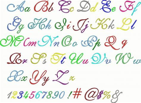 alphabet letters in different styles 15 different types of number fonts images different font