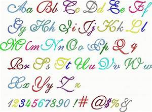 15 different types of number fonts images different font With different kinds of alphabet letters