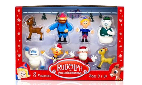 rudolph  red nosed reindeer  anniversary  figurine